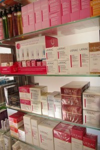 Lierac in der Berger Apotheke