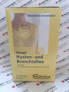 Sidroga Arzneitee Hustentee Bronchialtee