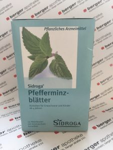Sidroga Arzneitee Pfefferminz
