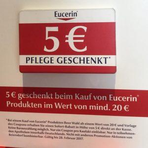 Eucerin Rabattaktion